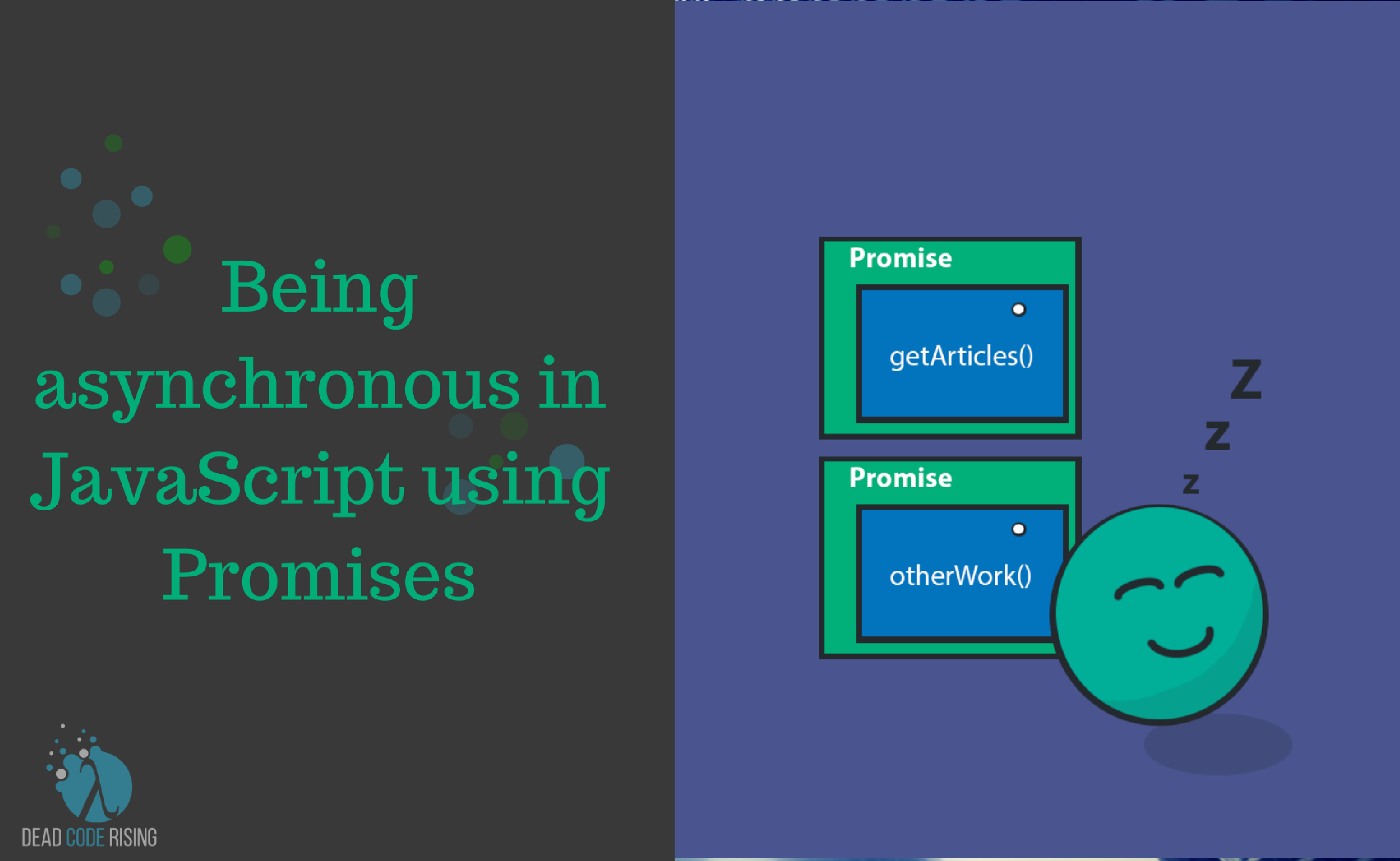 Being asynchronous in JavaScript using Promises